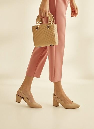 Sole Sisters Topuklu Ayakkabı Bej - Drew2 Ten